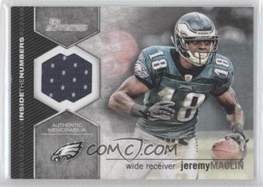 2012 Bowman - Inside the Numbers Relics #ITNR-JM - Jeremy Maclin