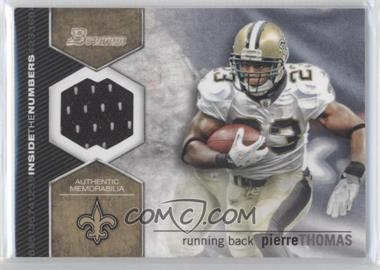 2012 Bowman - Inside the Numbers Relics #ITNR-PT - Pierre Thomas