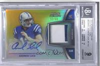 Andrew Luck [BGS 9 MINT] #/66