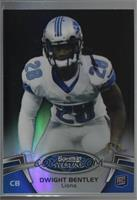 Dwight Bentley [Noted] #/75