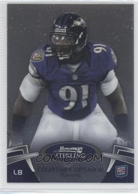 2012 Bowman Sterling - [Base] #75 - Courtney Upshaw