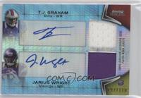 T.J. Graham, Jarius Wright /110