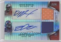 Doug Martin, David Wilson #/20