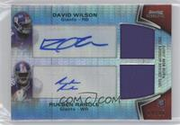David Wilson, Rueben Randle /20