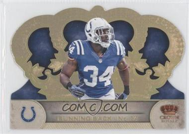2012 Crown Royale - [Base] - Gold Holo-Foil #32 - Delone Carter /99
