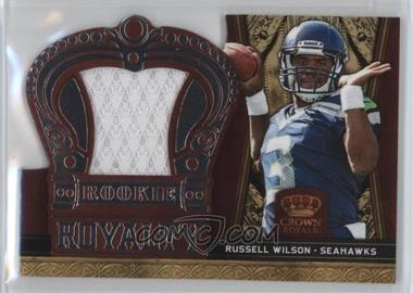 2012 Crown Royale - Rookie Royalty Materials #30 - Russell Wilson /149
