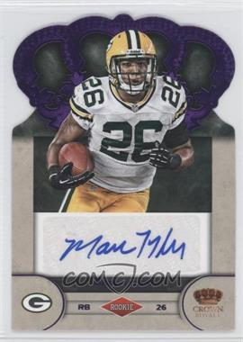 2012 Crown Royale - Rookie Signatures - Purple #60 - Marc Tyler /25