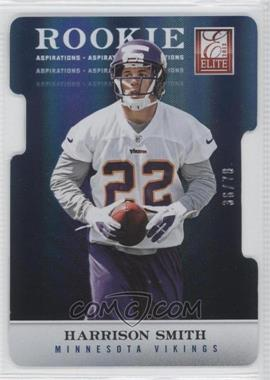 2012 Elite - [Base] - Aspirations Die-Cut #197 - Harrison Smith /78