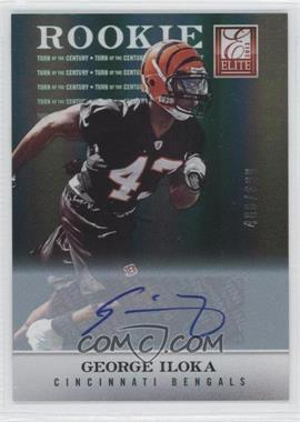 2012 Elite - [Base] - Turn of the Century Rookie Signatures [Autographed] #149 - George Iloka /699
