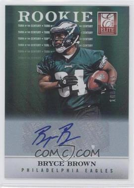 2012 Elite - [Base] - Turn of the Century Rookie Signatures [Autographed] #177 - Bryce Brown /399