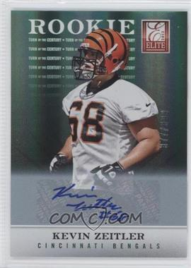 2012 Elite - [Base] - Turn of the Century Rookie Signatures [Autographed] #194 - Kevin Zeitler /399