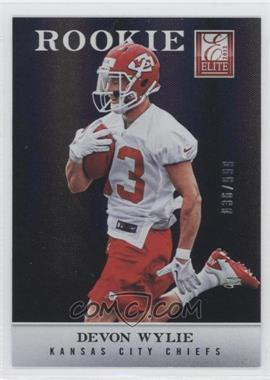 2012 Elite - [Base] #191 - Devon Wylie /999
