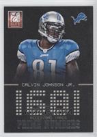 Calvin Johnson Jr. #/999