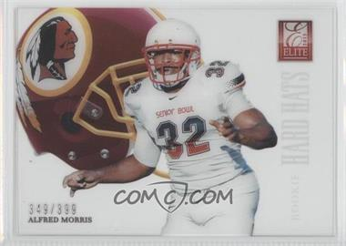 2012 Elite - Rookie Hard Hats #57 - Alfred Morris /399