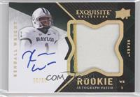 Rookie Autograph Patch - Kendall Wright #/50