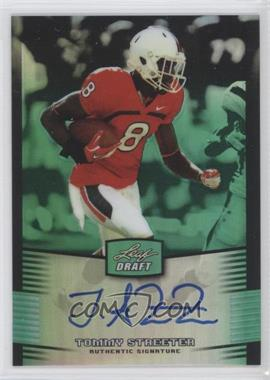 2012 Leaf Metal Draft - [Base] - Green #TS1 - Tommy Streeter /10