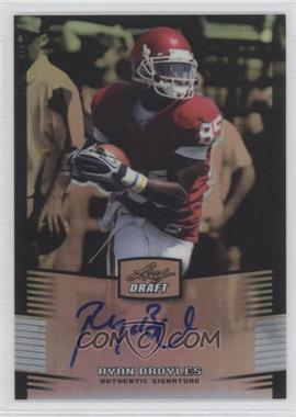 2012 Leaf Metal Draft - [Base] - Silver #RB1 - Ryan Broyles /99