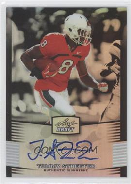 2012 Leaf Metal Draft - [Base] - Silver #TS1 - Tommy Streeter /99