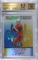 Brandon Weeden [BGS9.5GEMMINT] #/99