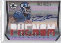 David Wilson #/122