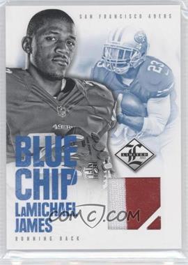 2012 Limited - Blue Chip Materials - Jerseys Prime #19 - LaMichael James /25