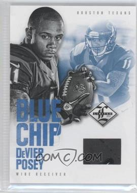 2012 Limited - Blue Chip Materials - Shoes #33 - DeVier Posey /49