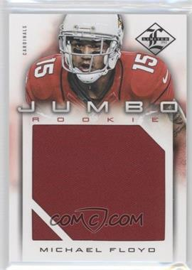 2012 Limited - Rookie Jumbo Materials #8 - Michael Floyd /99