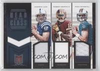Andrew Luck, Robert Griffin III, Ryan Tannehill #48/49