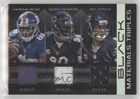 Hakeem Nicks, Jay Cutler, Julius Peppers, Chicago Bears, New York Giants /50