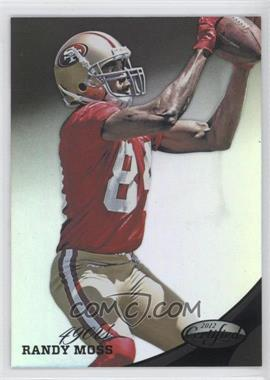 2012 Panini Certified - [Base] - Mirror Black #134 - Randy Moss /1