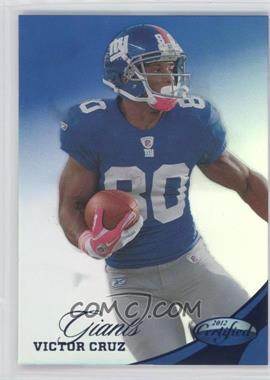 2012 Panini Certified - [Base] - Mirror Blue #75 - Victor Cruz /100