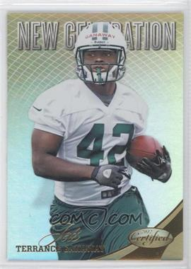 2012 Panini Certified - [Base] - Mirror Gold #306 - Terrance Ganaway /25