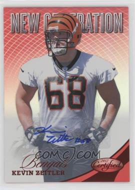 2012 Panini Certified - [Base] - Mirror Red Signatures [Autographed] #281 - Kevin Zeitler /350