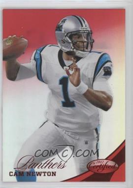 2012 Panini Certified - [Base] - Mirror Red #121 - Cam Newton /250