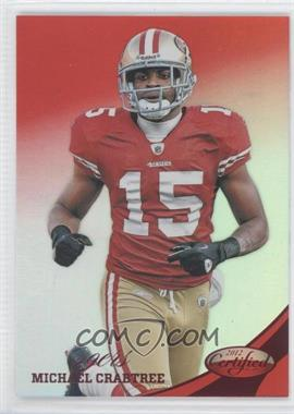 2012 Panini Certified - [Base] - Mirror Red #133 - Michael Crabtree /250