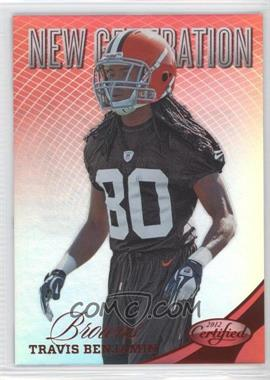 2012 Panini Certified - [Base] - Mirror Red #309 - Travis Benjamin /250