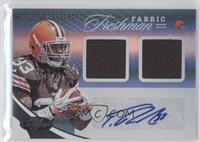 Freshman Fabric - Trent Richardson #/299