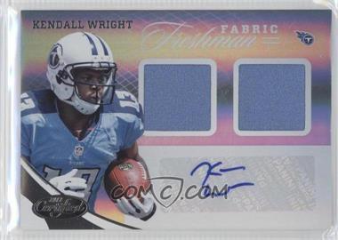 2012 Panini Certified - [Base] #322 - Kendall Wright /399