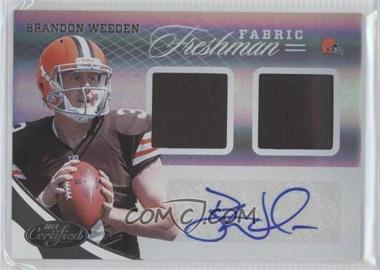 2012 Panini Certified - [Base] #323 - Brandon Weeden /299