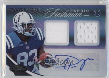 2012 Panini Certified - [Base] #333 - Dwayne Allen /499