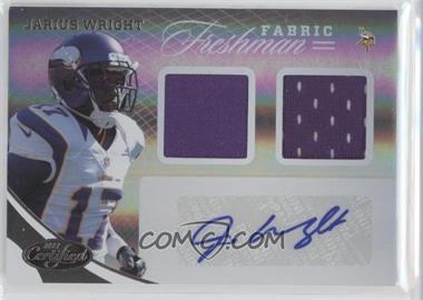 2012 Panini Certified - [Base] #350 - Jarius Wright /499