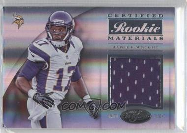 2012 Panini Certified - Certified Rookie Materials #7 - Jarius Wright /299
