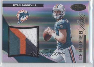 2012 Panini Certified - Certified Skills Materials - Prime #24 - Ryan Tannehill /49
