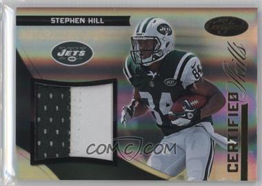 2012 Panini Certified - Certified Skills Materials - Prime #9 - Stephen Hill /49