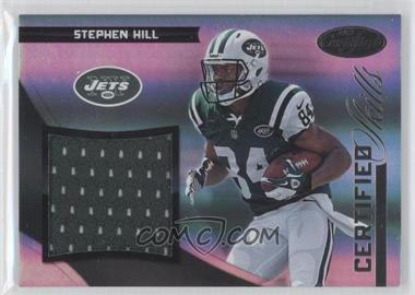 2012 Panini Certified - Certified Skills Materials #9 - Stephen Hill /299