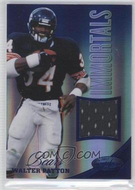 2012 Panini Certified - Materials - Mirror Blue #208 - Walter Payton /99