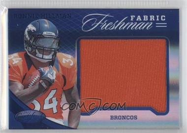 2012 Panini Certified - Materials - Mirror Blue #344 - Ronnie Hillman /49