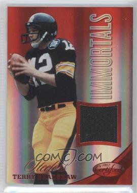 2012 Panini Certified - Materials - Mirror Red #219 - Terry Bradshaw /199