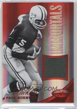 2012 Panini Certified - Materials - Mirror Red #243 - Paul Hornung /199