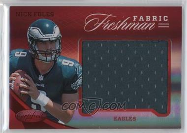 2012 Panini Certified - Materials - Mirror Red #341 - Nick Foles /149